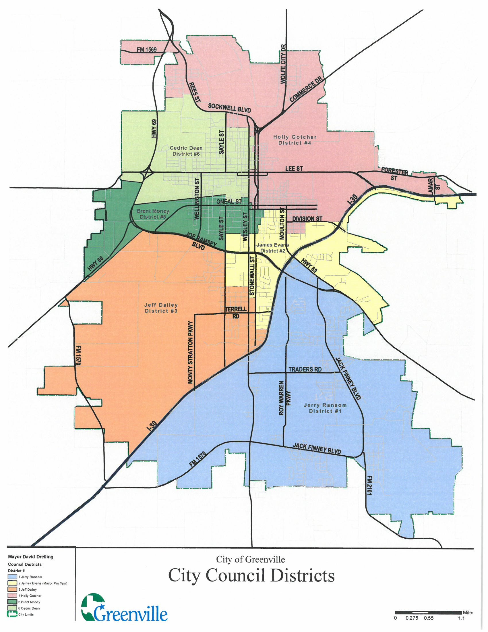 Map Of Texas District 6.Redistricting Greenville Tx Official Website