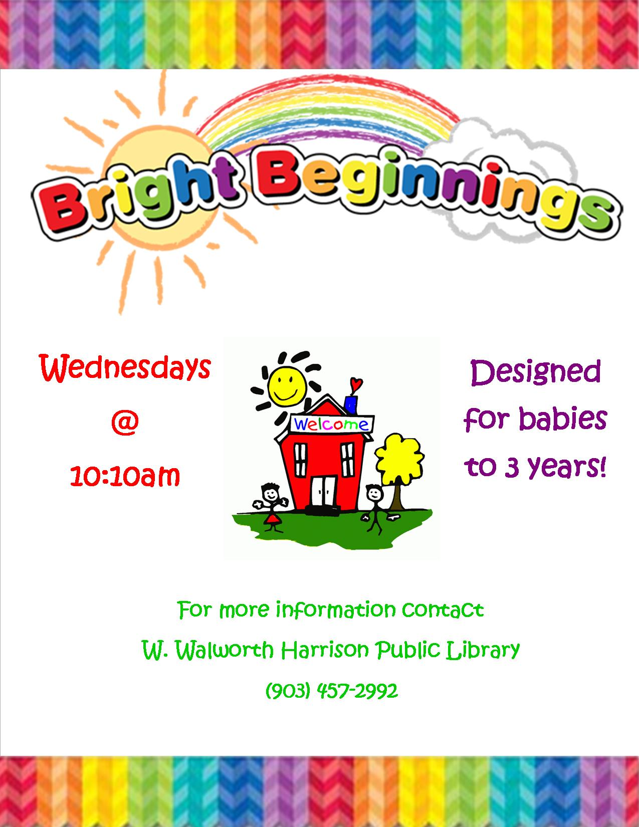 Bright Beginnings Flyer