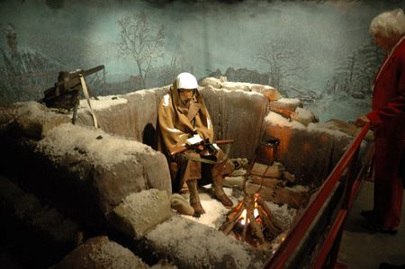 Museum, Hall of Heroes Diorama