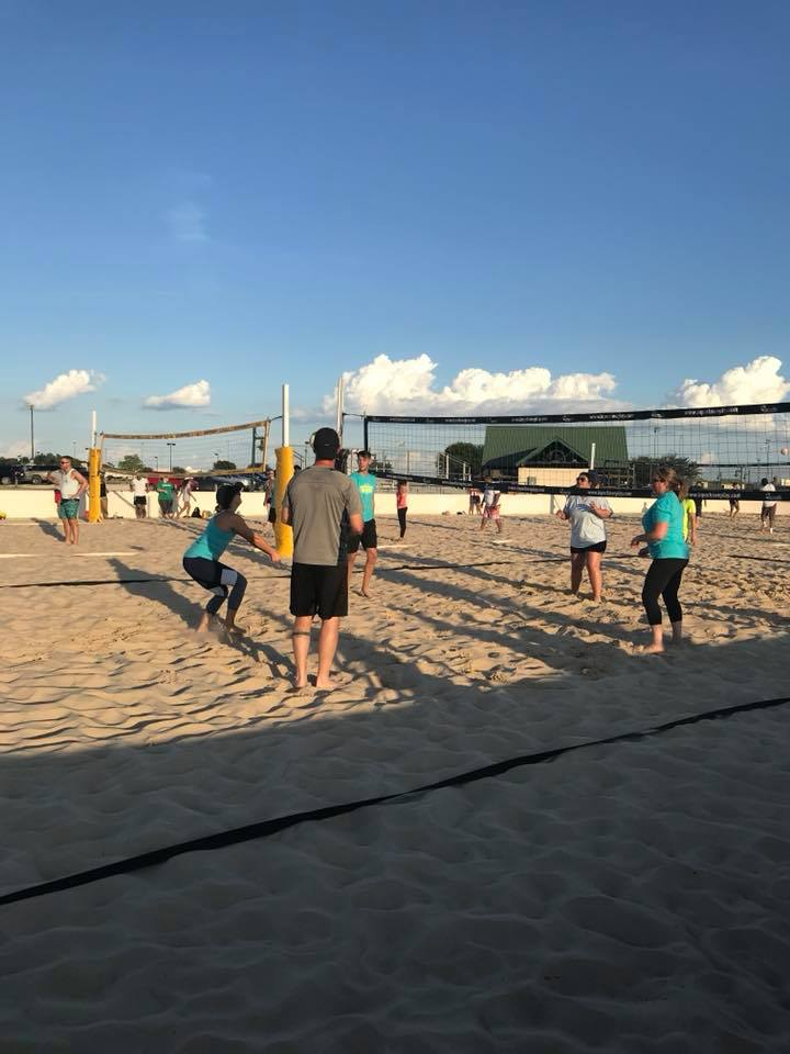 Sand Vollyball at Sports Park
