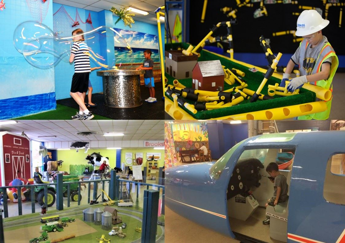 North East Texas Childrens Museum Collage