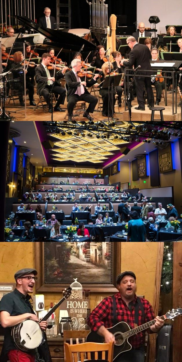 Dallas Symphony, Texan Theater, Landon Winery