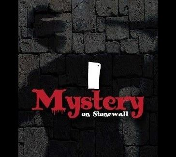 Mystery on Stonewall logo