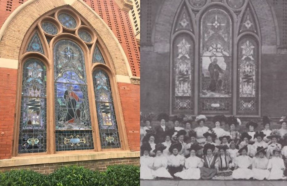 Central Christian Church Then and Now