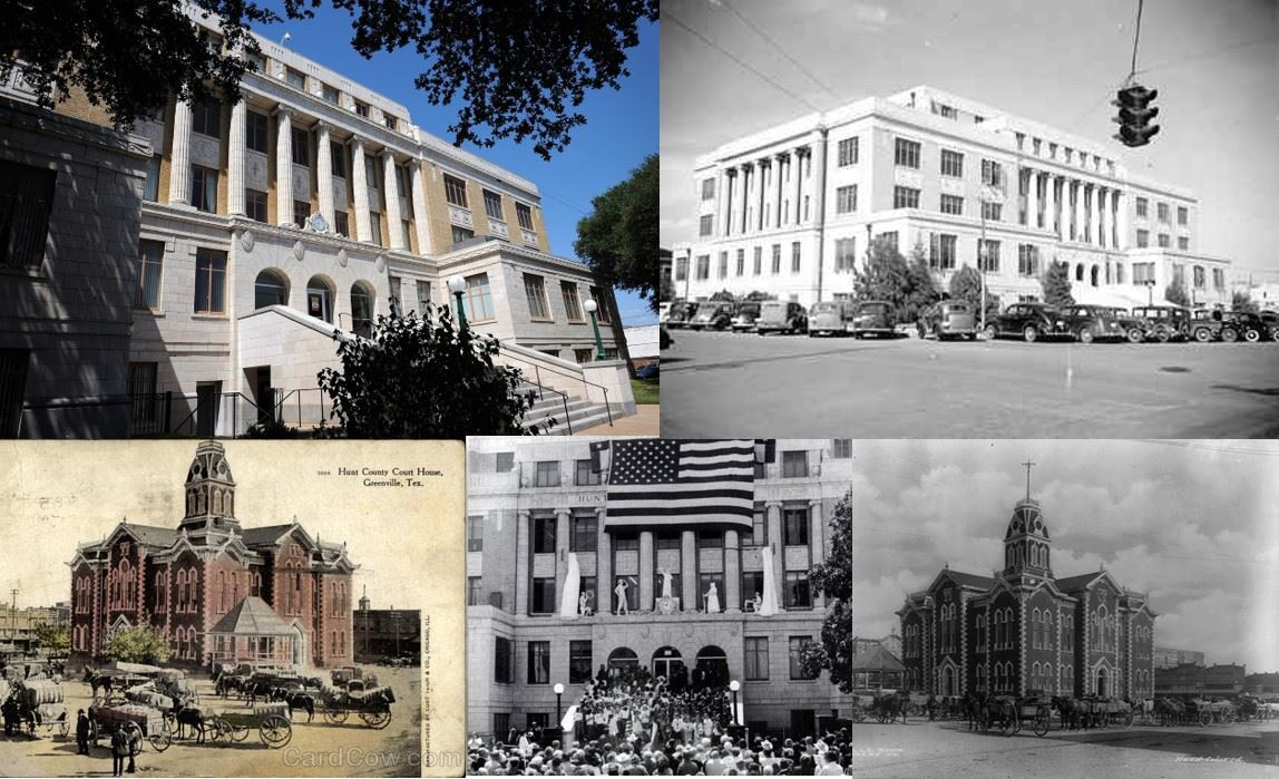 Hunt County Courthouse Through the Years
