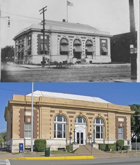 Greenville Post Office Now and Then