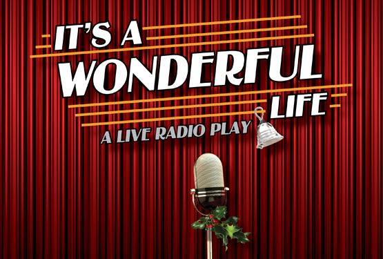 Its-a-Wonderful-Live-A-Live-Radio-Play logo in front of red curtain