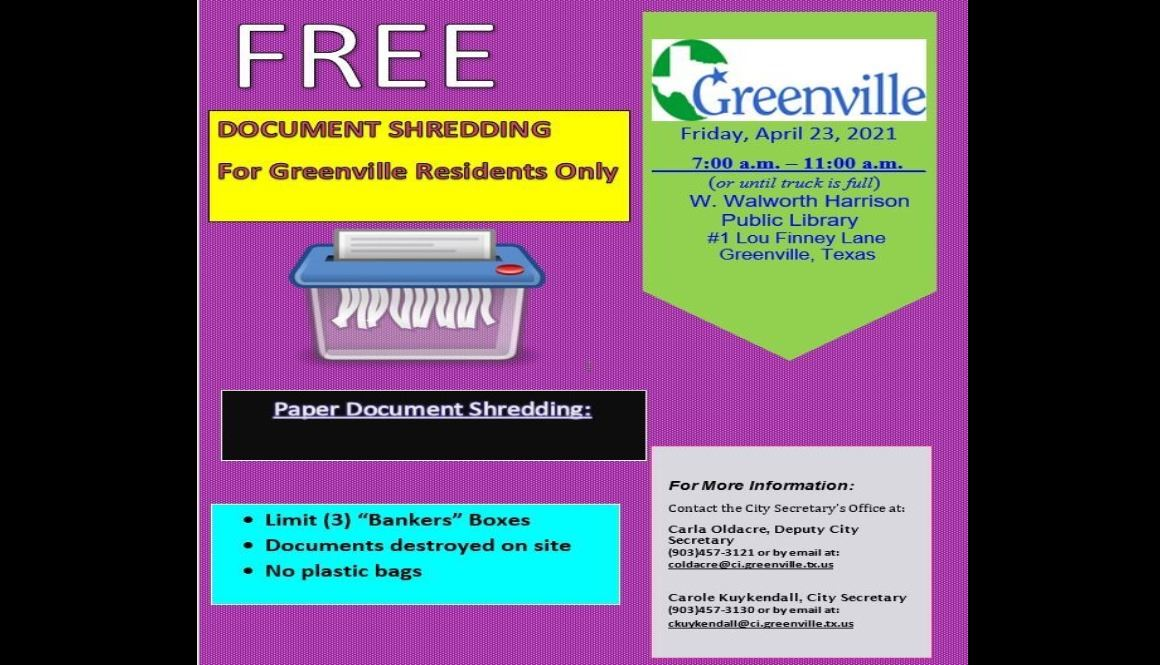Shred Event Flyer 04 23 21