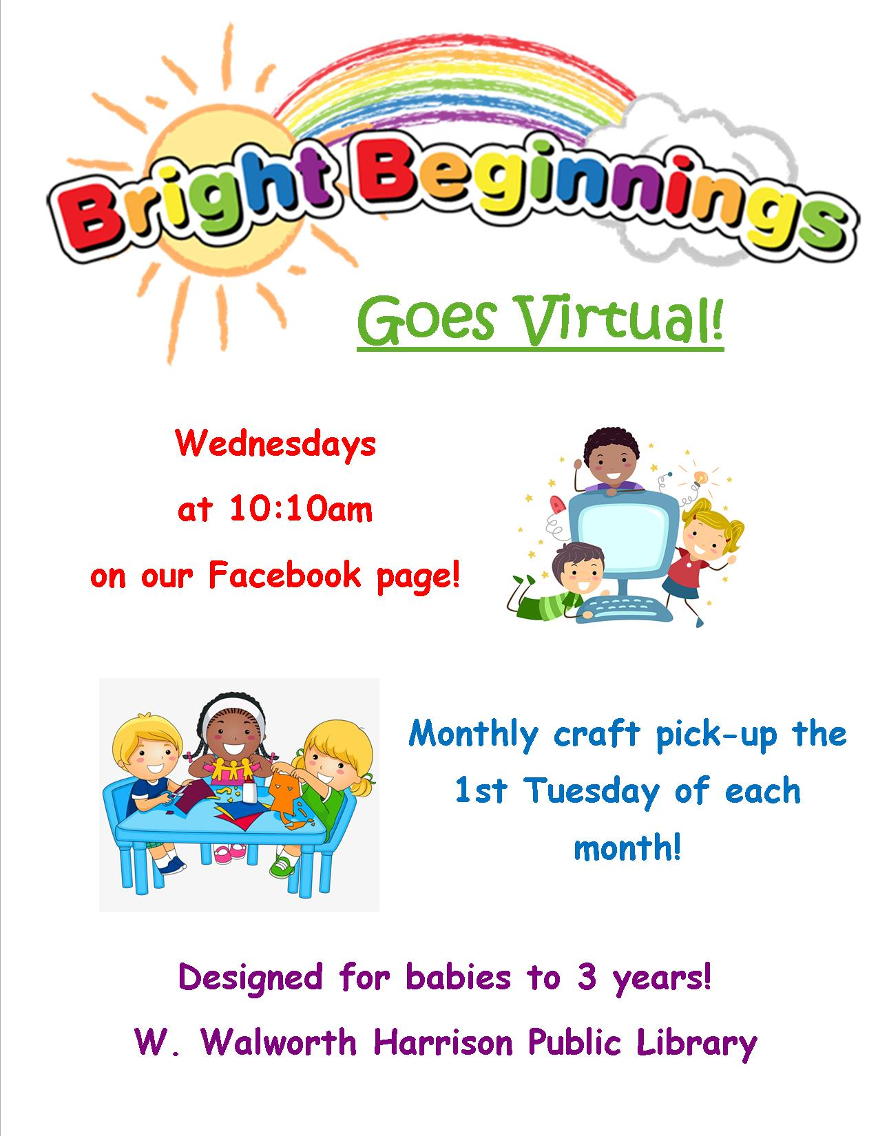 Bright Beginnings 2020 Flyer