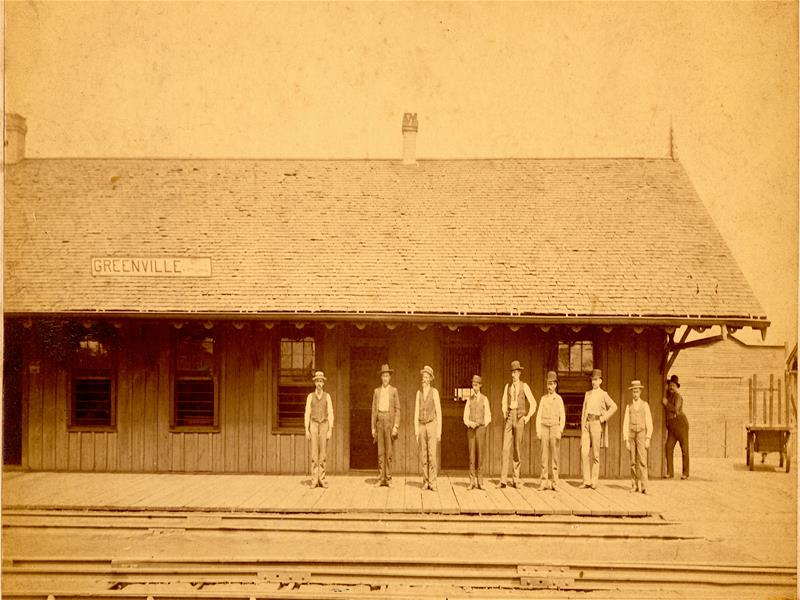 Old Katy Depot in 1893