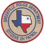 Citizens On Patrol Patch